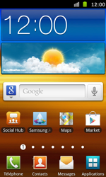 Samsung Galaxy S Advance - Applications - Installation d