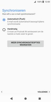 Sony Xperia XZ2 - E-mail - handmatig instellen (outlook) - Stap 14