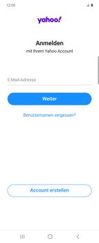 Samsung Galaxy Z flip - E-Mail - 032b. Email wizard - Yahoo - Schritt 9