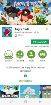 Samsung Galaxy S8 - Apps - Installieren von Apps - Schritt 17