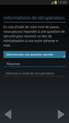 Samsung Galaxy Note II - Applications - Configuration de votre store d