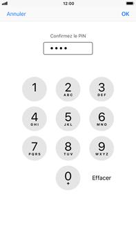 Apple iPhone 8 Plus - Sécuriser votre mobile - Personnaliser le code PIN de votre carte SIM - Étape 11