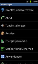 Samsung Galaxy Ace 2 - Anrufe - Anrufe blockieren - 4 / 13