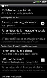 HTC S510e Desire S - Messagerie vocale - configuration manuelle - Étape 6
