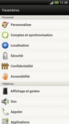 HTC One S - Sécuriser votre mobile - Personnaliser le code PIN de votre carte SIM - Étape 4