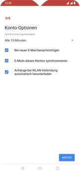 OnePlus 6T - Android Pie - E-Mail - Konto einrichten (outlook) - Schritt 11