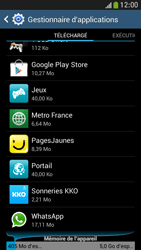 Bouygues Telecom Samsung Galaxy S4 Mini Applications