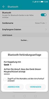 Huawei Honor 9 Lite - Bluetooth - Geräte koppeln - Schritt 10