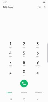 Samsung Galaxy Note10 Plus - Messagerie vocale - configuration manuelle - Étape 5