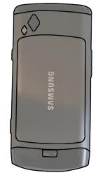 Samsung S8500 Wave - SIM-Karte - Einlegen - Schritt 2