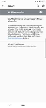Sony Xperia 10 Plus - WLAN - Manuelle Konfiguration - Schritt 6