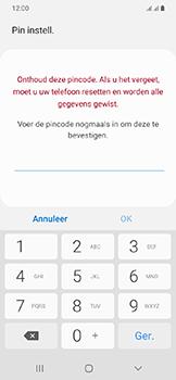 Samsung Galaxy A20e - Beveiliging en privacy - automatische schermblokkering instellen - Stap 9