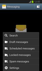 Samsung I8730 Galaxy Express - SMS - Manual configuration - Step 5