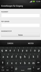 HTC One - E-Mail - Konto einrichten - Schritt 9