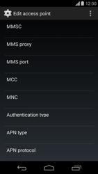Motorola Moto G - MMS - Manual configuration - Step 10
