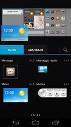 Huawei Ascend P6 - Operazioni iniziali - Installazione di widget e applicazioni nella schermata iniziale - Fase 6