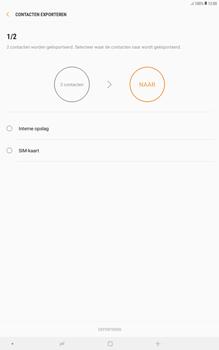 Samsung galaxy-tab-a-10-5-sm-t595 - Contacten en data - Contacten kopiëren van toestel naar SIM - Stap 14