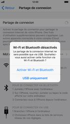 Apple iPhone 7 iOS 11 - Internet et connexion - Utiliser le mode modem par USB - Étape 7