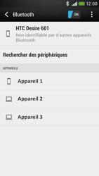 HTC Desire 601 - Bluetooth - connexion Bluetooth - Étape 8