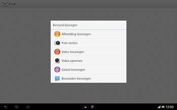 Sony SGP321 Xperia Tablet Z LTE - E-mail - e-mail versturen - Stap 10