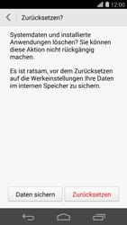 Huawei Ascend P7 - Fehlerbehebung - Handy zurücksetzen - 10 / 11