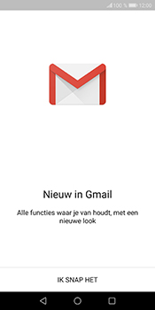 Huawei P Smart - E-mail - e-mail instellen (gmail) - Stap 4