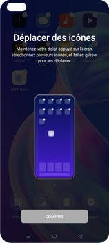 Oppo Reno 4Z - Applications - Personnaliser l