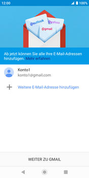 Sony Xperia XZ2 - Android Pie - E-Mail - Konto einrichten (gmail) - Schritt 14