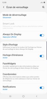 Samsung Galaxy Note10 - Sécurité - activéz le code PIN de l'appareil - Étape 5