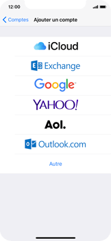 Apple iPhone X - E-mail - 032c. Email wizard - Outlook - Étape 5