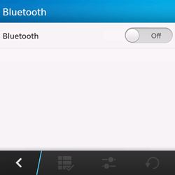 BlackBerry Q10 - Bluetooth - Connecting devices - Step 6