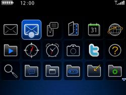 BlackBerry curve 3G - E-mails - Envoyer un e-mail - Étape 3