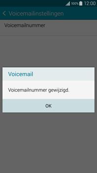 Samsung N910F Galaxy Note 4 - Voicemail - Handmatig instellen - Stap 10