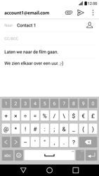 LG G5 - Android Nougat - e-mail - hoe te versturen - stap 11