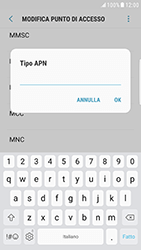 Samsung Galaxy S6 Edge - Android Nougat - Internet e roaming dati - Configurazione manuale - Fase 14