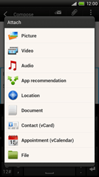 HTC S728e One X Plus - Email - Sending an email message - Step 10