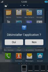 Samsung Wave M - Applications - Supprimer une application - Étape 5