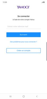 Samsung Galaxy Note10 Plus - E-mail - Configuration manuelle (yahoo) - Étape 10