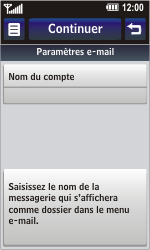 LG GD900 Crystal - E-mail - Configuration manuelle - Étape 15