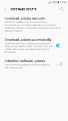 Samsung Galaxy S6 - Android Nougat - Software - Installing software updates - Step 6
