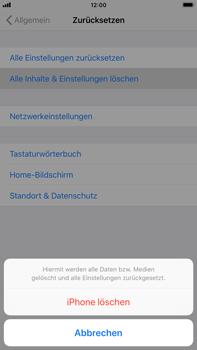 Apple iPhone 6 Plus - Fehlerbehebung - Handy zurücksetzen - 8 / 11