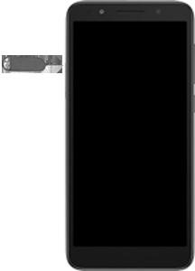 Alcatel 1X - Premiers pas - Insérer la carte SIM - Étape 2