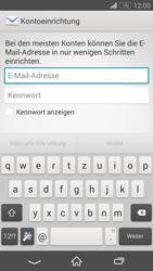 Sony D5803 Xperia Z3 Compact - E-Mail - Konto einrichten - Schritt 5