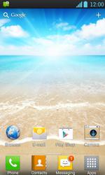 LG P700 Optimus L7 - Internet - Automatic configuration - Step 3