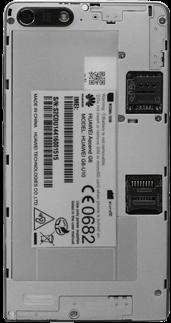 Huawei Ascend G6 - SIM-Karte - Einlegen - Schritt 3