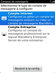 BlackBerry 9810 Torch - E-mail - Configuration manuelle - Étape 5