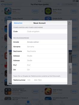 Apple iPad Air iOS 8 - Apps - Einrichten des App Stores - Schritt 21