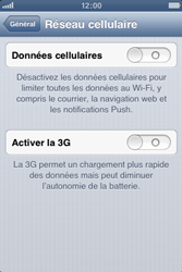 Apple iPhone 3GS - Internet et roaming de données - Configuration manuelle - Étape 5