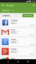 HTC One M8 - Applications - How to check for app-updates - Step 6
