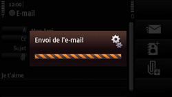 Nokia N97 Mini - E-mail - Envoi d